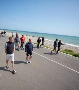 Rehabilitation wellness walk