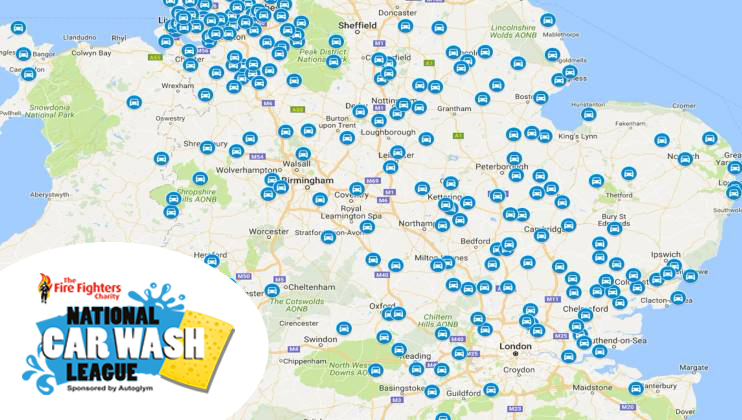 Car Wash Map