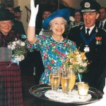1993 - HM Queen attends Golden Jubilee celebrations
