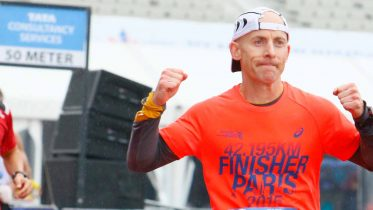 Marathon man Steve Holder