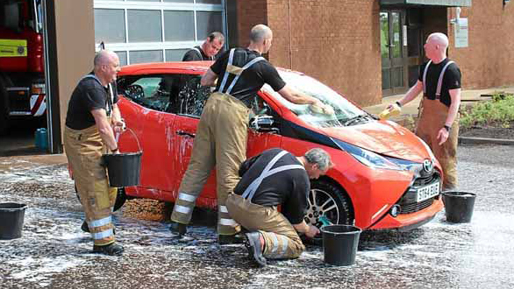Car wash locations fire fighters car wash locations solutioingenieria Image collections