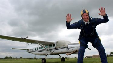 Plane crazy:  Richard Dykes