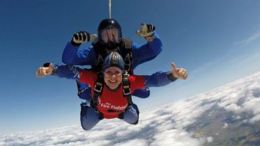 Take on a skydive