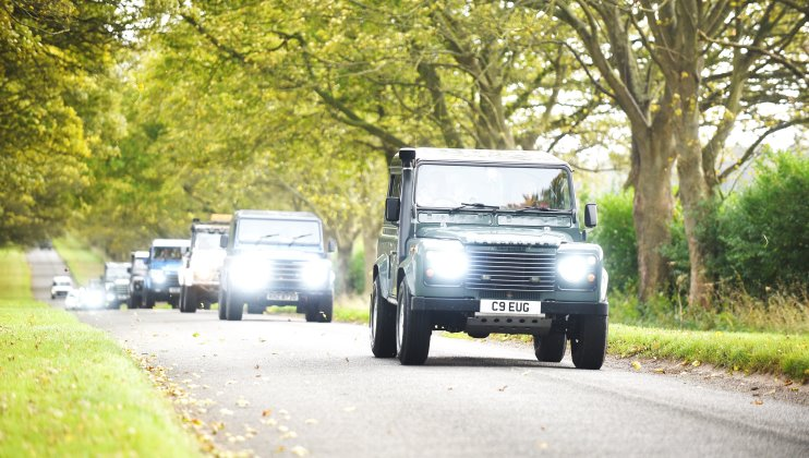 Land Rover enthusiasts turn out in droves