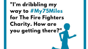 #My75Miles social media graphics