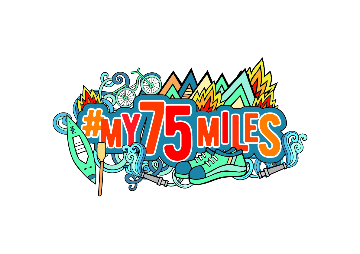 #My75Miles challenge launched