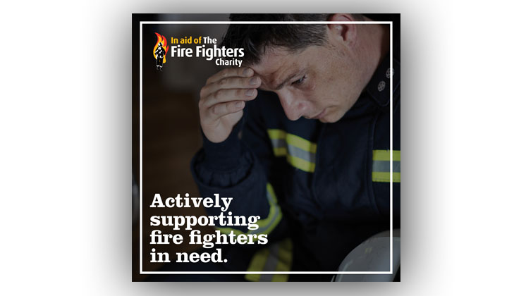 Actively sponsoring fire fighters in need