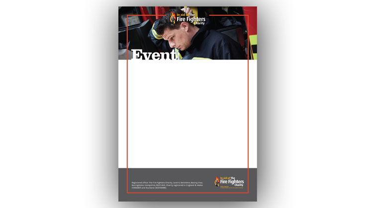 Event poster template (Mental health)