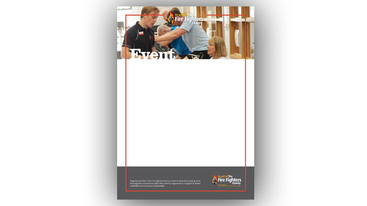 Event poster template - (Rehabilitation services)