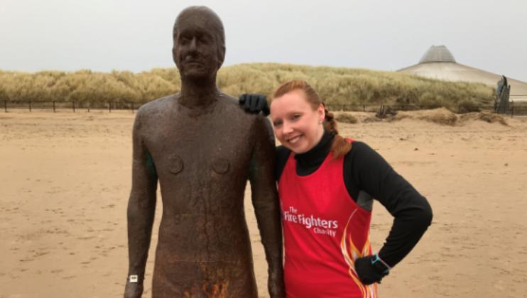 Erica's 10th marathon challenge