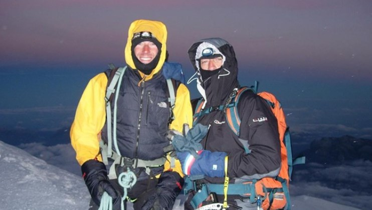 Chris and Ashley's Mount Kinabalu Climb