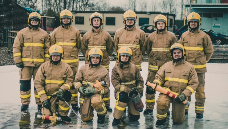 This is #My75Miles: Cheshire Trainee Firefighters