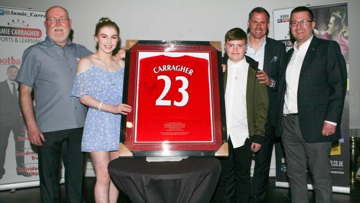 Jamie Carragher's Ladder 23 Night
