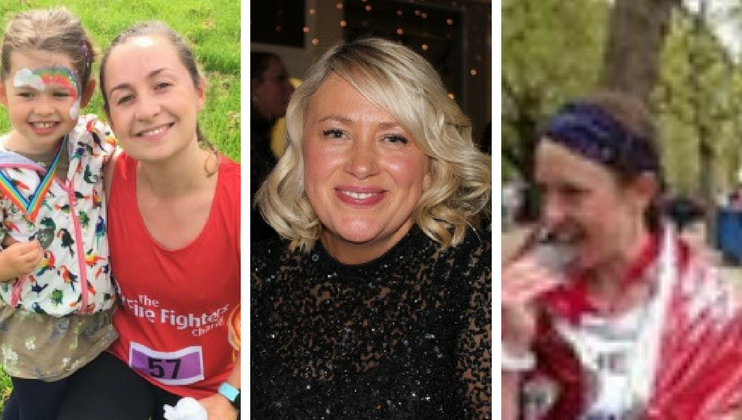 Meet our Marathoners – Jane, Julie and Michelle
