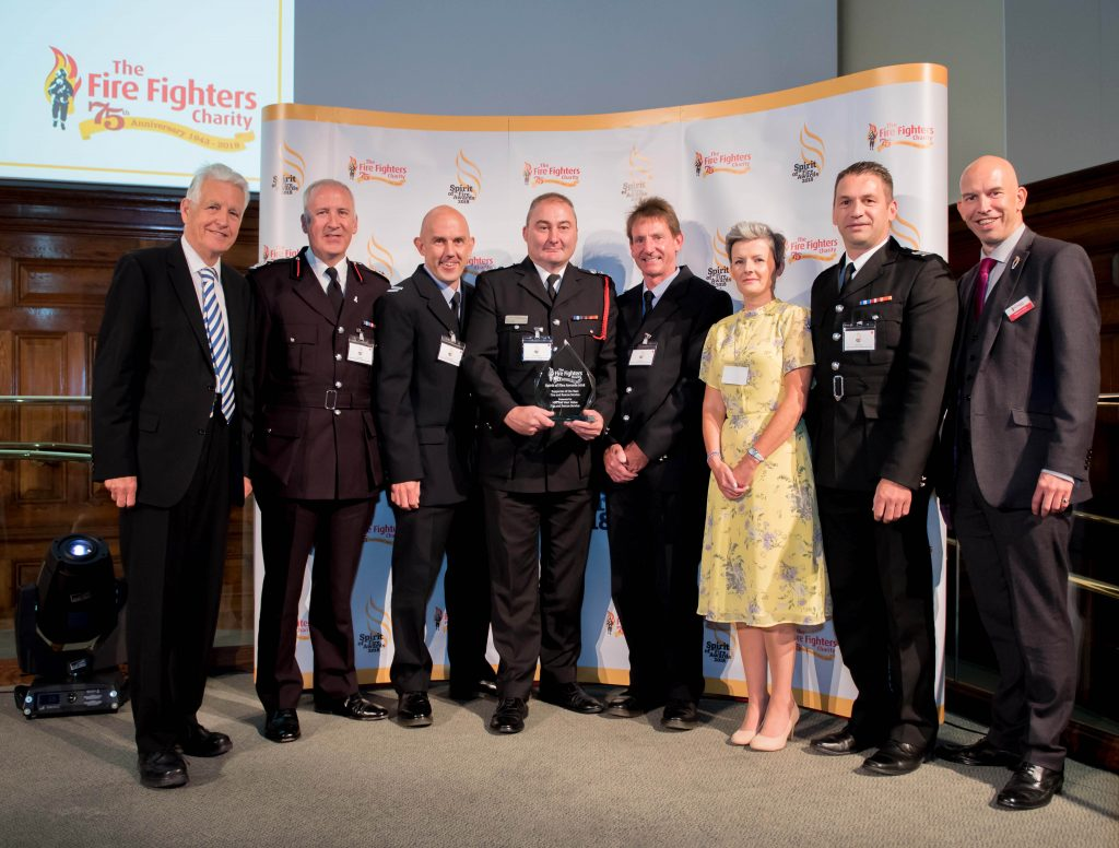 Spirit of Fire Awards 2018 - Fire and Rescue Service