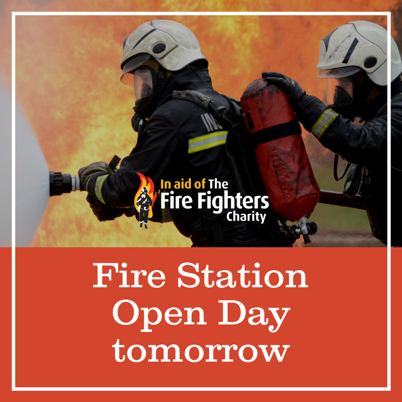 Fire Station Open Day tomorrow