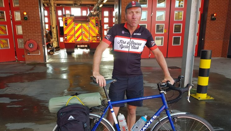 Retirement cycle ride to all stations in Dorset and Wiltshire