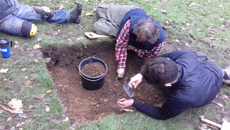 New partnership offers support through archaeology