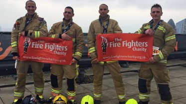 Fundraisers Tackle Tower Run