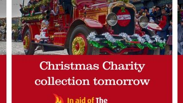 Christmas Charity collection tomorrow (image)