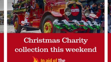Christmas Charity collection this weekend (image)