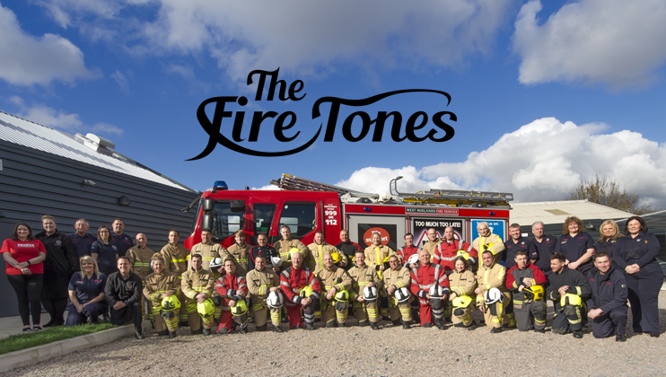 The Fire Tones with logo