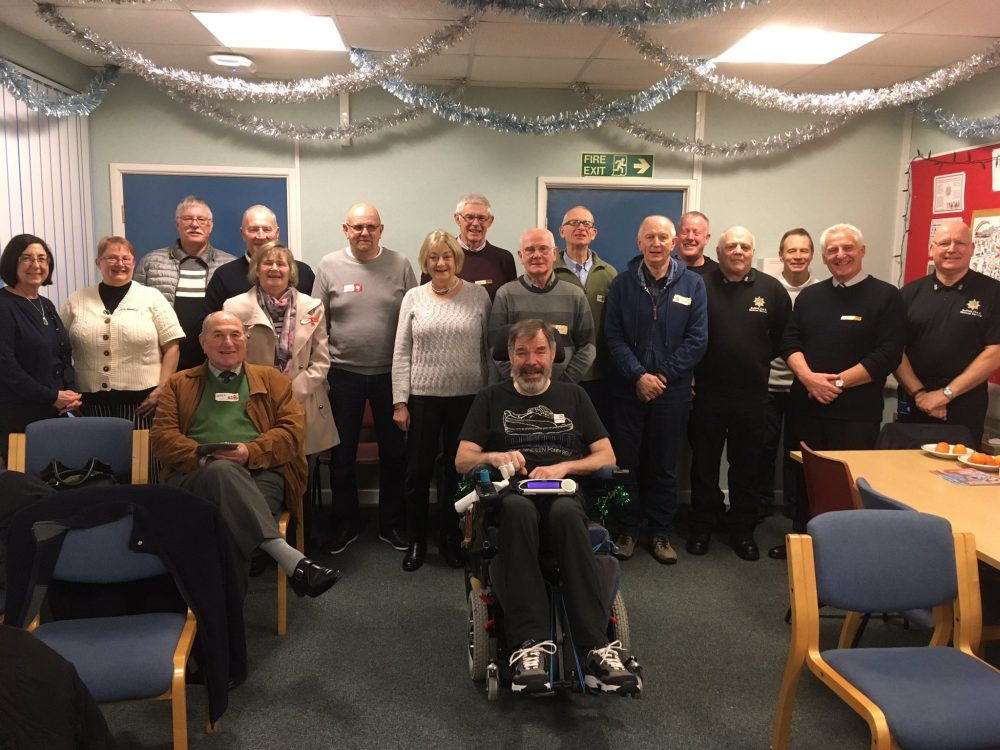 Stowmarket Living Well Group Dec 2018