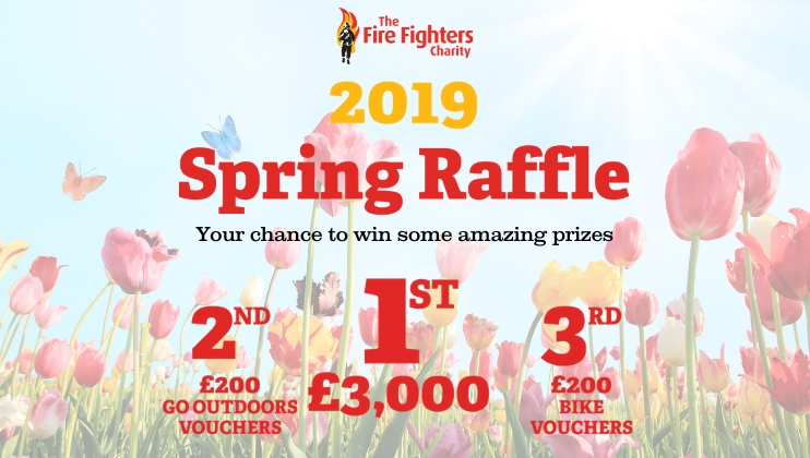 Our Spring Raffle is now open