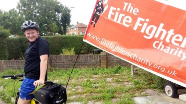 """Andrew: """"With my autism, I didn't used to speak. But the fire service helped"""""""