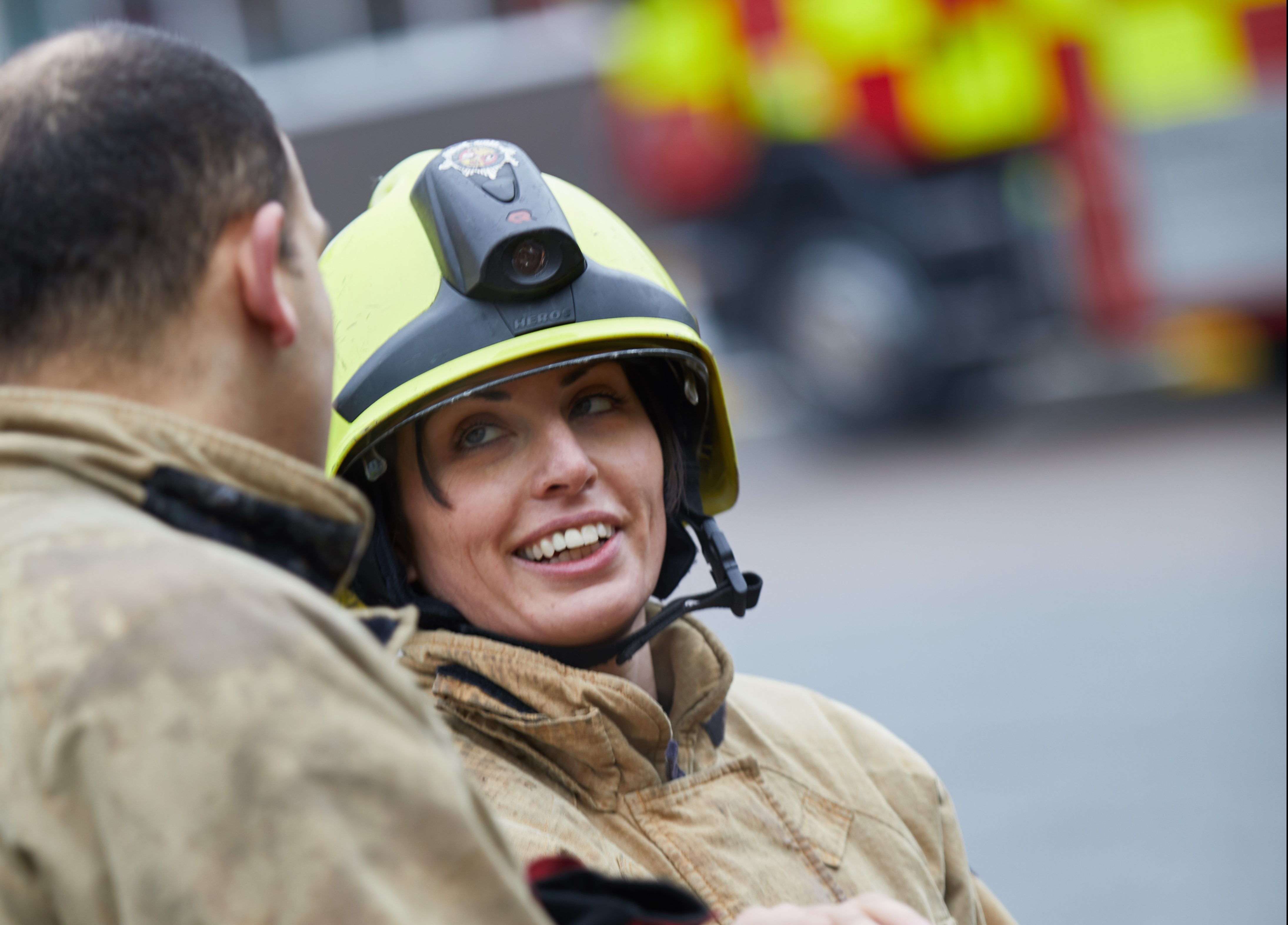 Luton Fire Station – BedfordshireFRS – Action shots (1071)