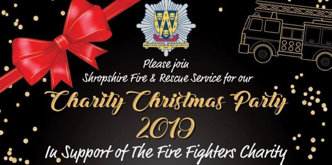 Charity Christmas Party – Shropshire FRS