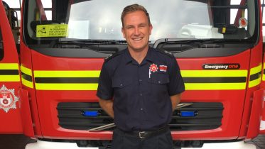 "Stu: ""My experiences have definitely enriched my ability to discuss mental health with fire colleagues"""