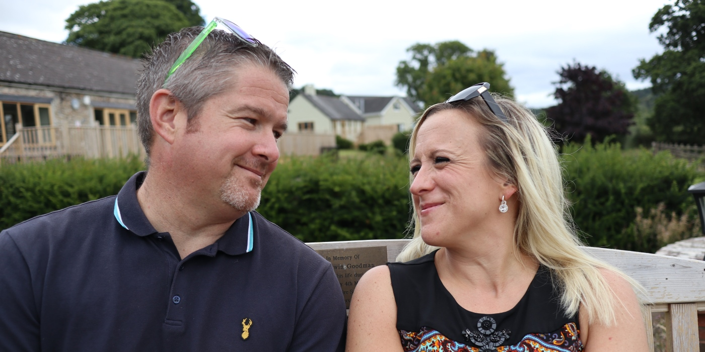 """Lee & Dawn: """"It gave our family some laughter we'd been struggling to find at the time"""""""