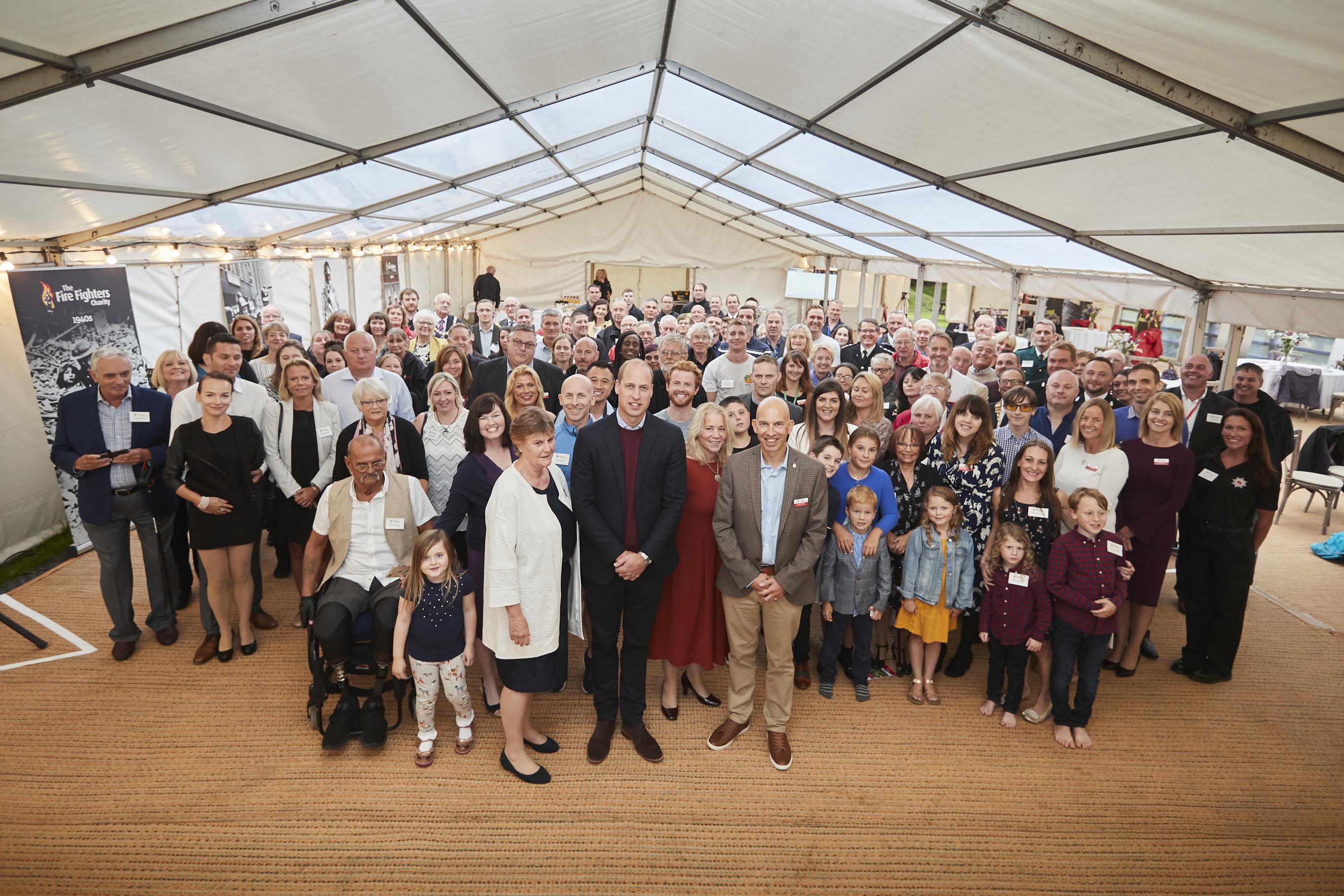 Royal Visit to Harcombe House