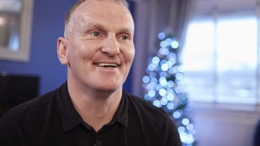 """Alistair: """"Last Christmas I was living in a shed, but this Christmas I have a home"""""""