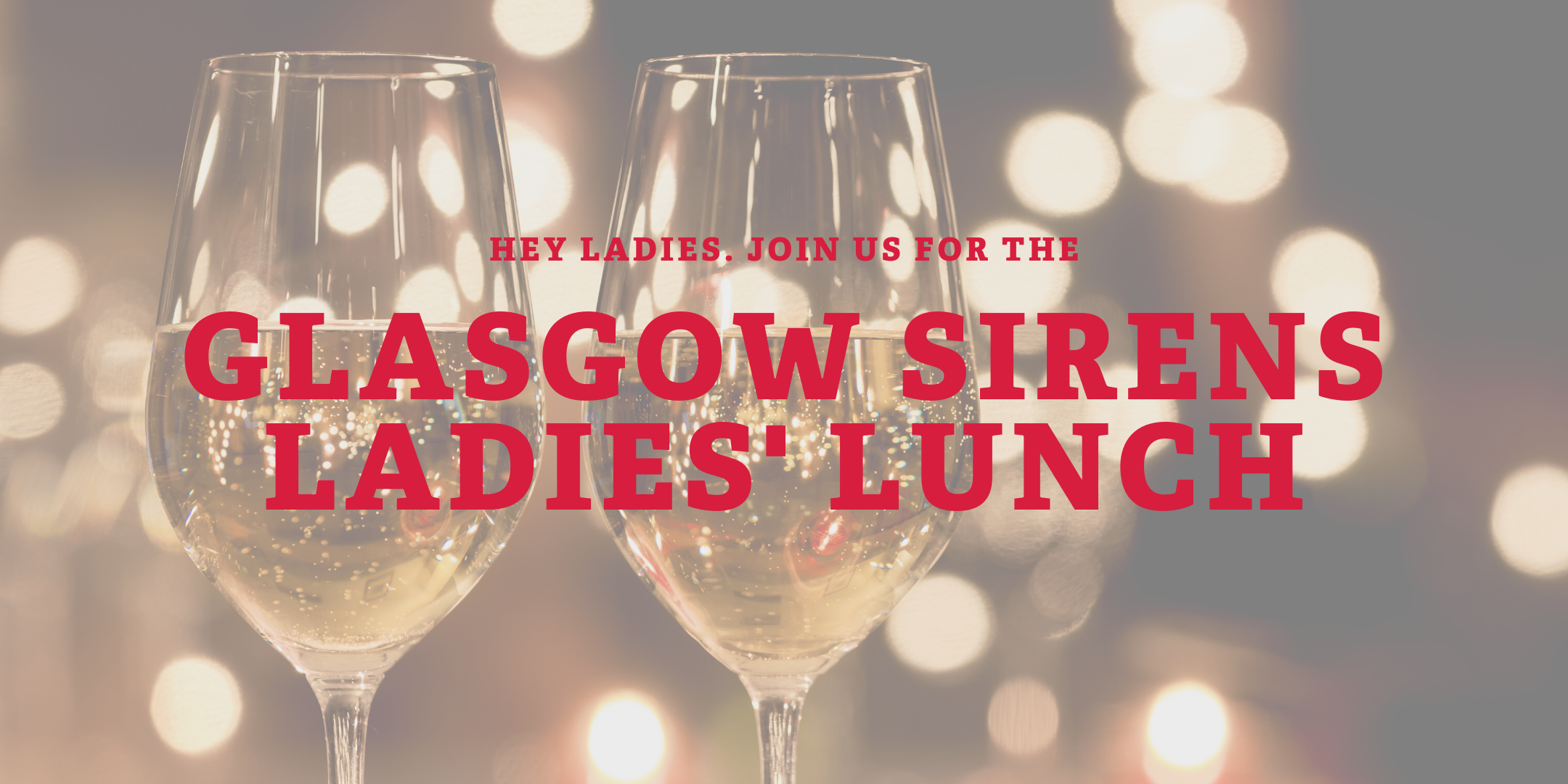 Glasgow Sirens Ladies' Lunch