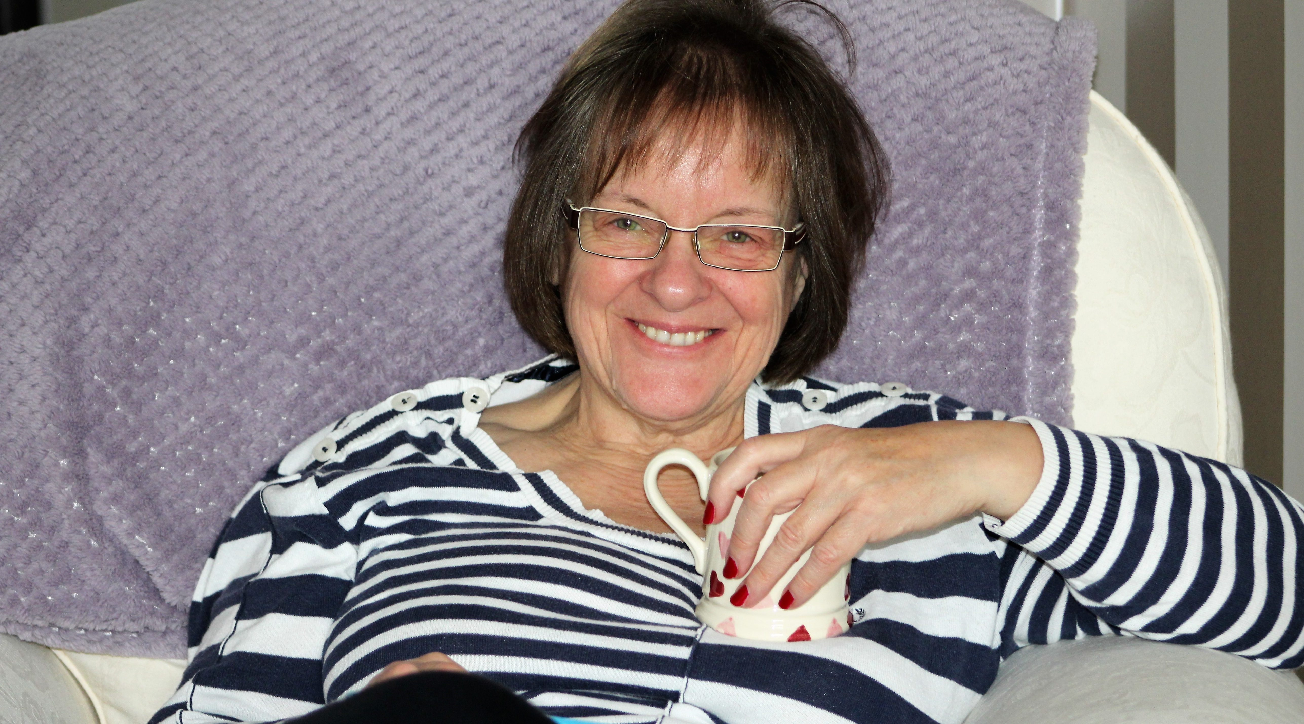 """Linda: """"I have achieved all I was aiming for, and it's all thanks to the people at Jubilee House."""""""