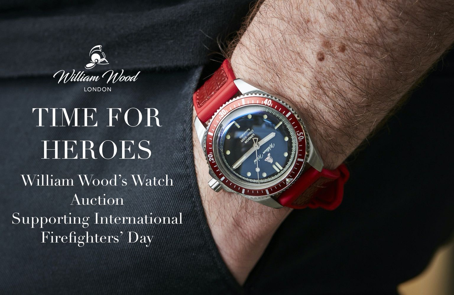 William Wood Watches' charity auction