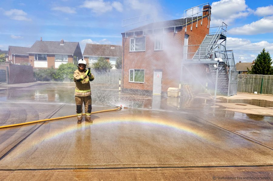 Staffordshire Fire and Rescue Service Rainbow credit2