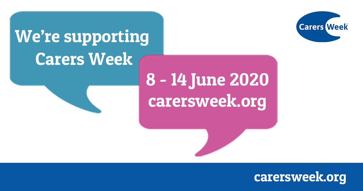 Facebook Carers Week 2020 shareable – We Are Supporting Carers Week