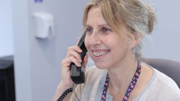 Telephone or video counselling