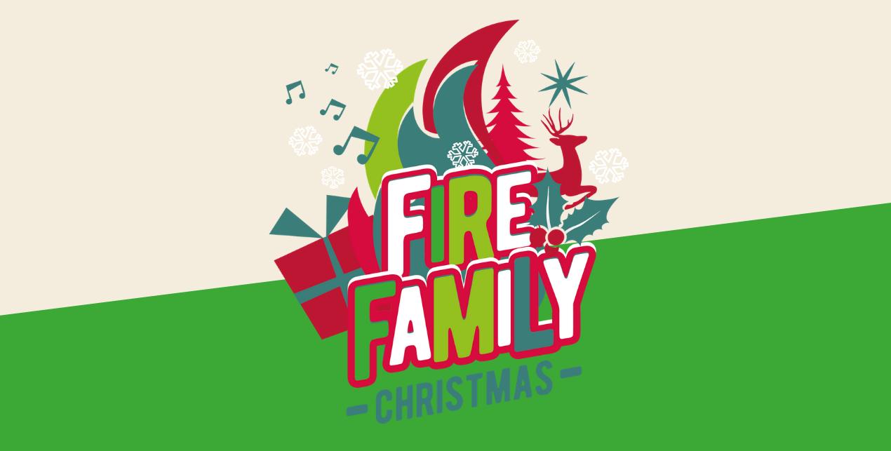 Fire Family Christmas header