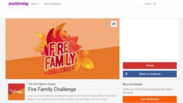 Create a JustGiving fundraising page