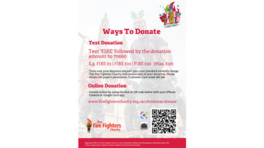 Ways to Donate Christmas Poster