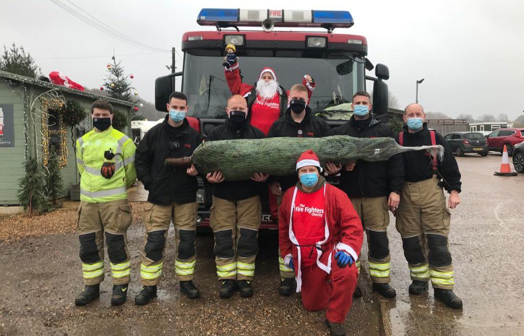 Fire Family Santa Dash is a festive hit