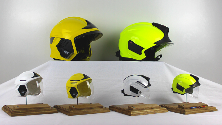 Firefighter creates bespoke helmet gifts exclusively for the Charity