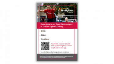 Open Day poster template