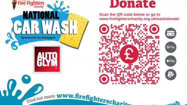Car Wash Online Donation Poster