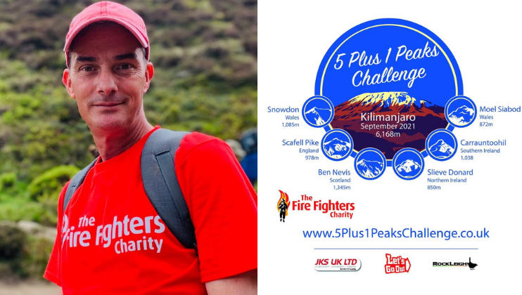 Beneficiary takes on 6 mountains in just 4 days for Charity