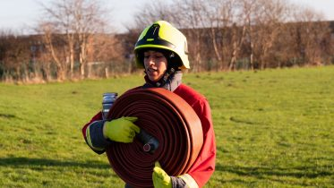 """Uroosa: """"Being the first Hijabi firefighter in the UK is inspiring other women"""""""